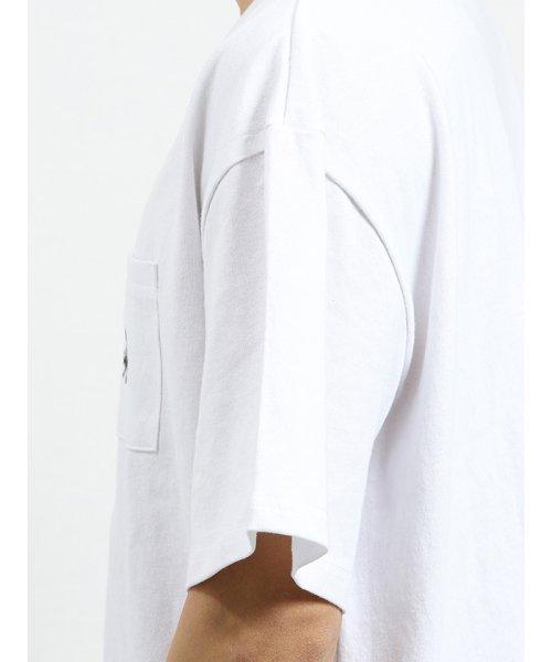 on the day(オンザデイ)/【WEB限定販売】カンゴール/KANGOL ポケット付きロゴ刺繍半袖Tシャツ/110207799814937_img04