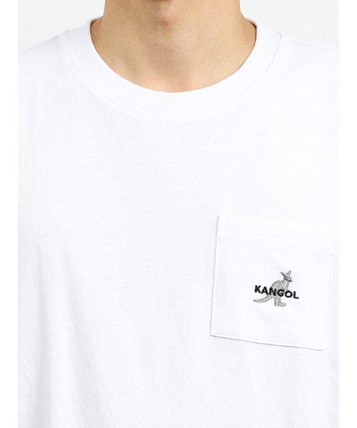 on the day(オンザデイ)/【WEB限定販売】カンゴール/KANGOL ポケット付きロゴ刺繍半袖Tシャツ/110207799814937_img05