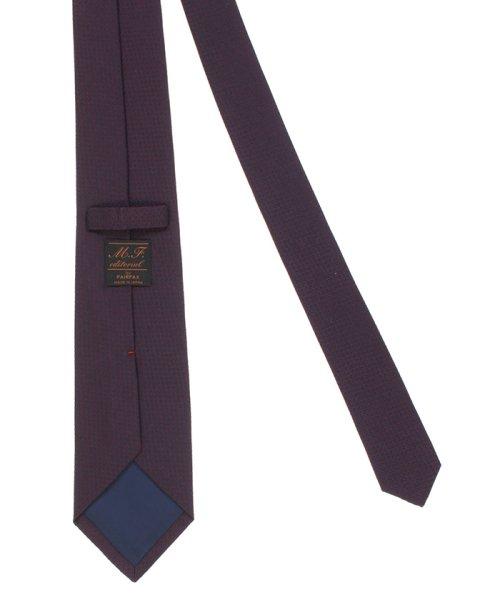 m.f.editorial(エムエフエディトリアル)/mf by FAIRFAX 日本製シルクソリッド レギュラータイ8.0cm幅/110302683753923_img03