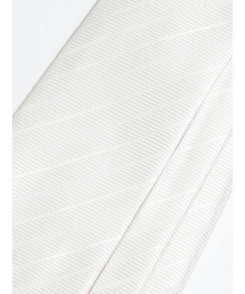 m.f.editorial(エムエフエディトリアル)/白織ストライプ フォーマルネクタイ8.0cm幅/110305089800923_img04