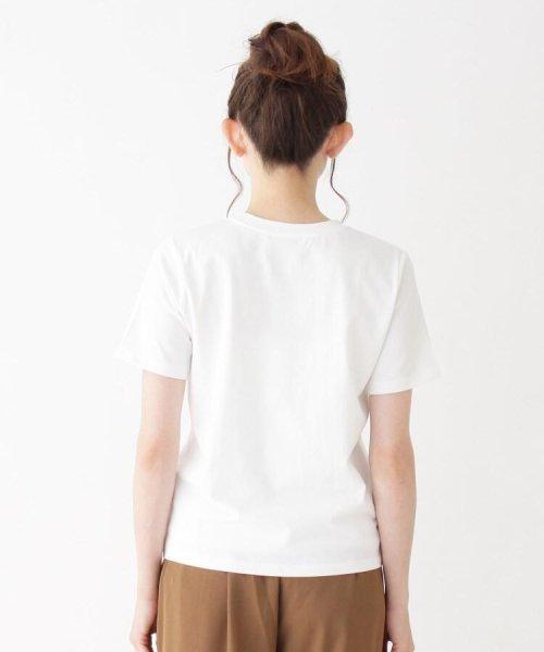 OPAQUE.CLIP(オペークドットクリップ)/コットンシンプルクルーネックTシャツ/20190263717202_img03