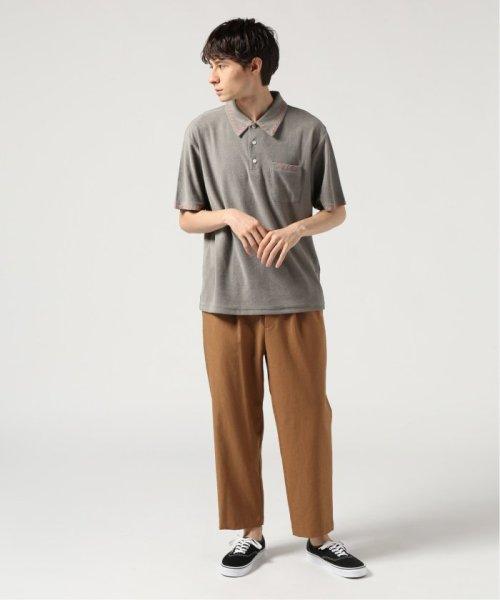 JOURNAL STANDARD(ジャーナルスタンダード)/GIMME FIVE/ ギミーファイブ : IVY TOWELLING ポロシャツ/19071610007110_img01