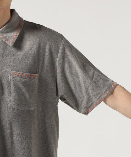 JOURNAL STANDARD(ジャーナルスタンダード)/GIMME FIVE/ ギミーファイブ : IVY TOWELLING ポロシャツ/19071610007110_img08