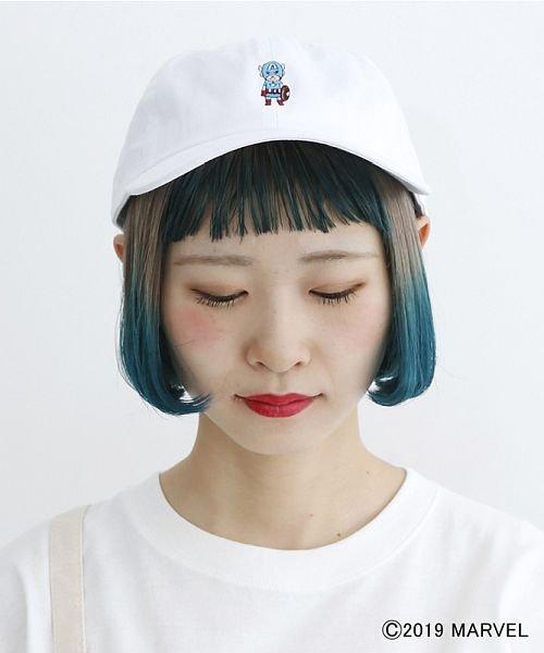 merlot(メルロー)/【MARVEL/マーベル】ワンポイント刺繍キャップ/00010012-819200395004_img04