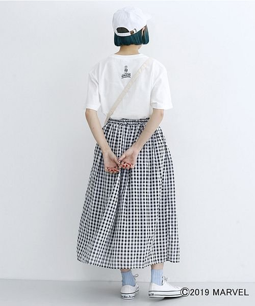 merlot(メルロー)/【MARVEL/マーベル】ワンポイント刺繍キャップ/00010012-819200395004_img12