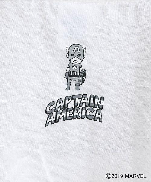 merlot(メルロー)/【MARVEL/マーベル】袖刺繍バックプリントTシャツ/00010012-819290395001_img07
