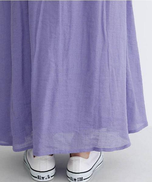 merlot(メルロー)/レーヨンスラブガーゼフロントボタンスカート/00010012-819610527462_img07