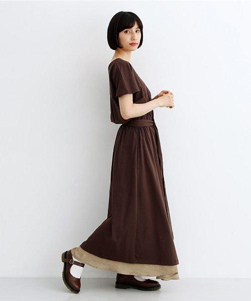 merlot(メルロー)/レーヨンスラブガーゼフロントボタンスカート/00010012-819610527462_img10