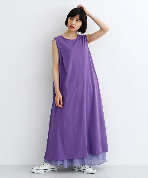 merlot(メルロー)/レーヨンスラブガーゼフロントボタンスカート/00010012-819610527462_img12