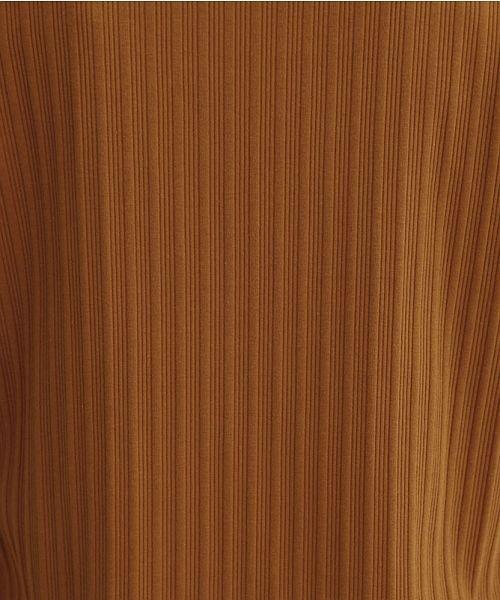 merlot(メルロー)/変形リブアシンメトリーネックラウンドヘムプルオーバー/00010012-819630797226_img10