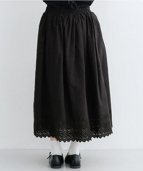 merlot(メルロー)/パネル刺繍フレアスカート/00010012-869132581792_img03