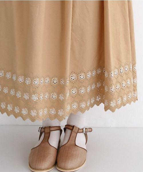 merlot(メルロー)/パネル刺繍フレアスカート/00010012-869132581792_img05