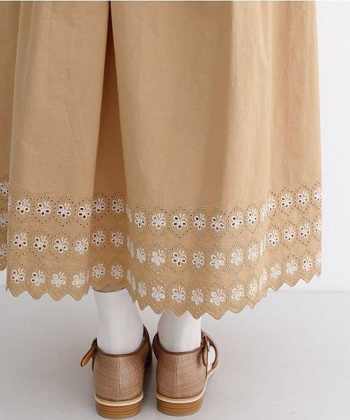 merlot(メルロー)/パネル刺繍フレアスカート/00010012-869132581792_img07