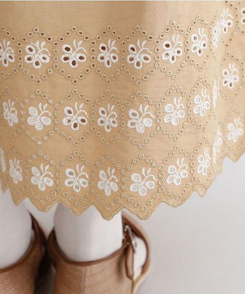 merlot(メルロー)/パネル刺繍フレアスカート/00010012-869132581792_img08
