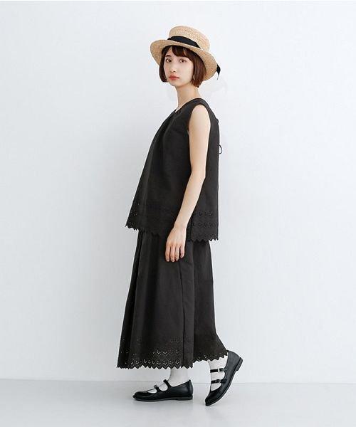 merlot(メルロー)/パネル刺繍フレアスカート/00010012-869132581792_img09