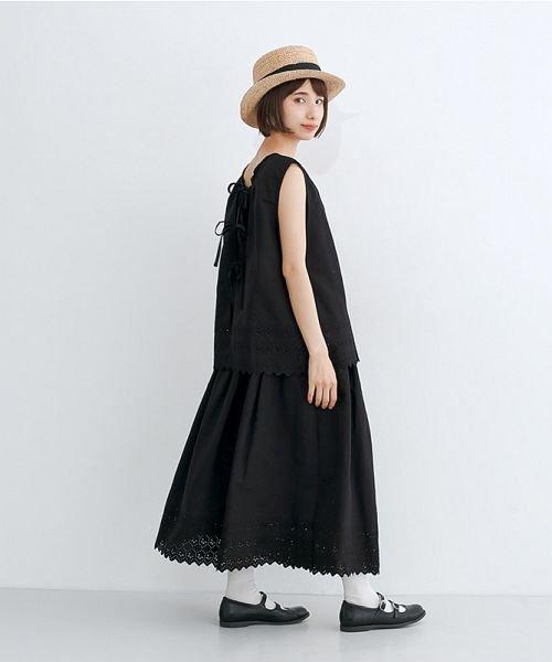 merlot(メルロー)/パネル刺繍フレアスカート/00010012-869132581792_img10