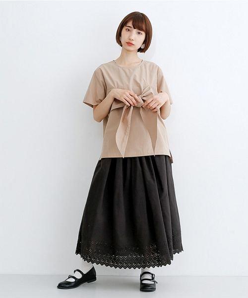 merlot(メルロー)/パネル刺繍フレアスカート/00010012-869132581792_img11