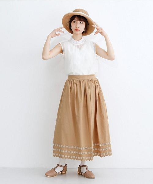 merlot(メルロー)/パネル刺繍フレアスカート/00010012-869132581792_img13