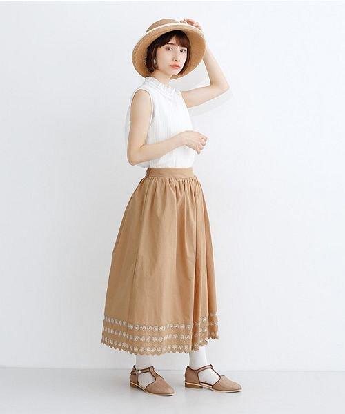 merlot(メルロー)/パネル刺繍フレアスカート/00010012-869132581792_img14