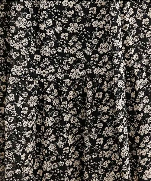 merlot(メルロー)/フラワー柄ティアードマキシスカート/00010012-869212523248_img10