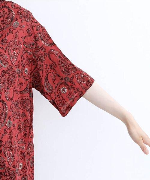 merlot(メルロー)/オリエンタルペイズリー柄オープンカラーシャツ/00010012-869212533261_img05
