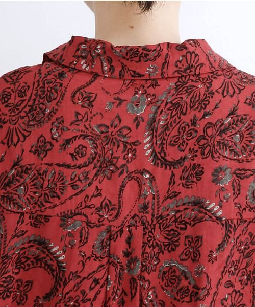 merlot(メルロー)/オリエンタルペイズリー柄オープンカラーシャツ/00010012-869212533261_img08