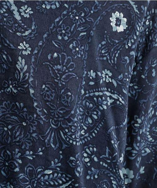 merlot(メルロー)/オリエンタルペイズリー柄オープンカラーシャツ/00010012-869212533261_img10