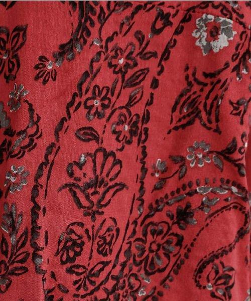 merlot(メルロー)/オリエンタルペイズリー柄オープンカラーシャツ/00010012-869212533261_img11