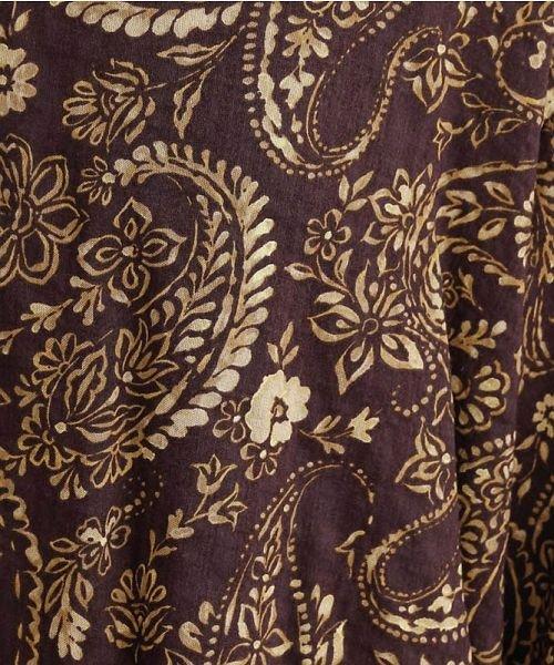 merlot(メルロー)/オリエンタルペイズリー柄オープンカラーシャツ/00010012-869212533261_img12