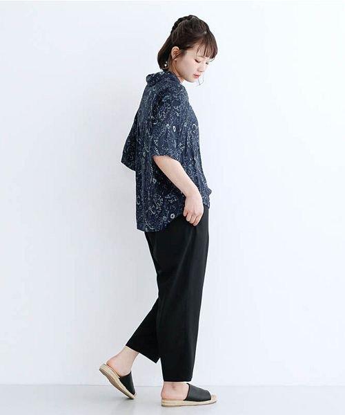 merlot(メルロー)/オリエンタルペイズリー柄オープンカラーシャツ/00010012-869212533261_img14