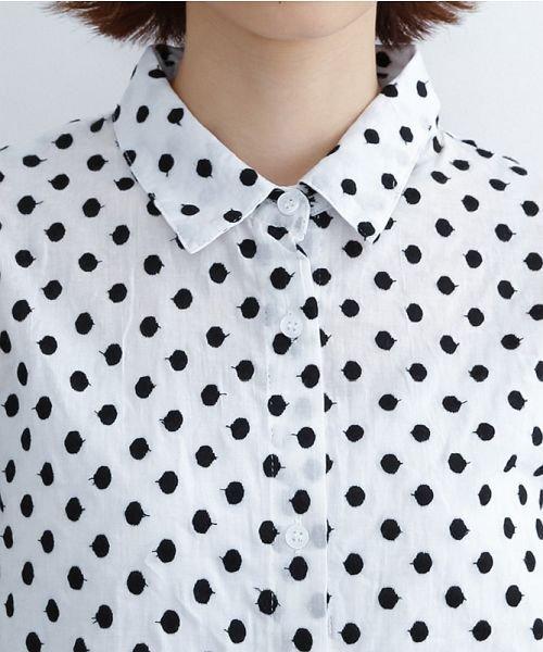 merlot(メルロー)/ドット刺繍シャツワンピース/00010012-869232533178_img04