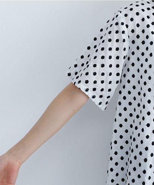 merlot(メルロー)/ドット刺繍シャツワンピース/00010012-869232533178_img05