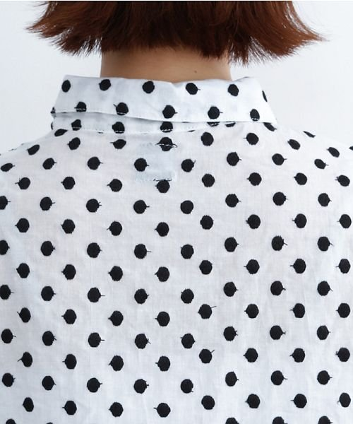 merlot(メルロー)/ドット刺繍シャツワンピース/00010012-869232533178_img08