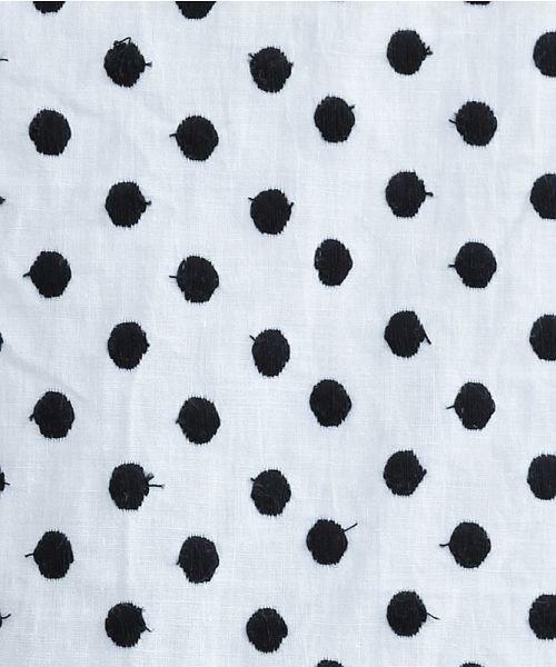 merlot(メルロー)/ドット刺繍シャツワンピース/00010012-869232533178_img10