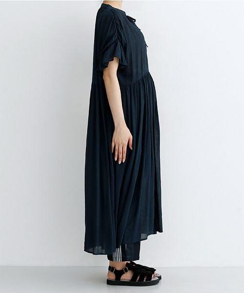 merlot(メルロー)/楊柳ギャザーボリュームワンピース/00010012-879210008561_img02