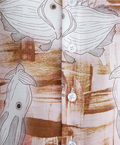 merlot(メルロー)/深海ずかん柄Vネックワンピース/00010012-879230008391_img06