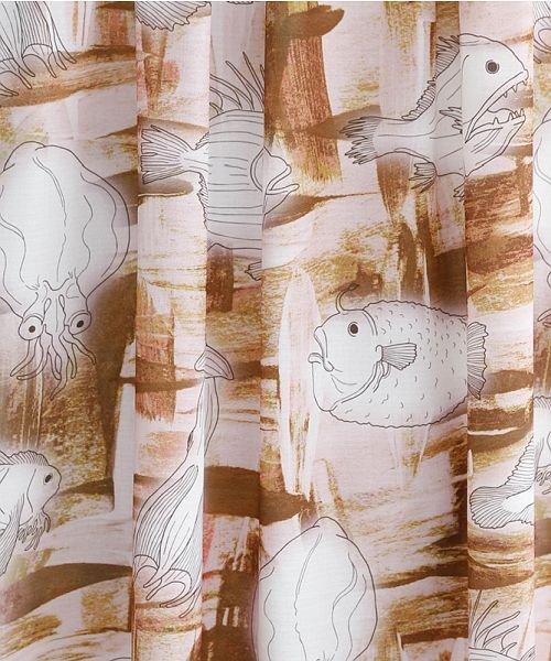 merlot(メルロー)/深海ずかん柄Vネックワンピース/00010012-879230008391_img10