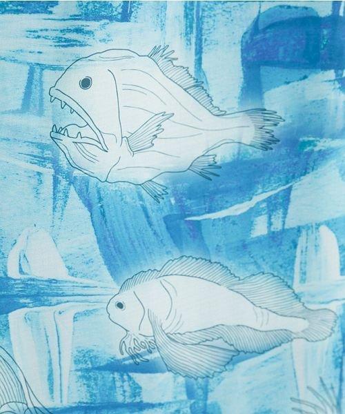 merlot(メルロー)/深海ずかん柄Vネックワンピース/00010012-879230008391_img12