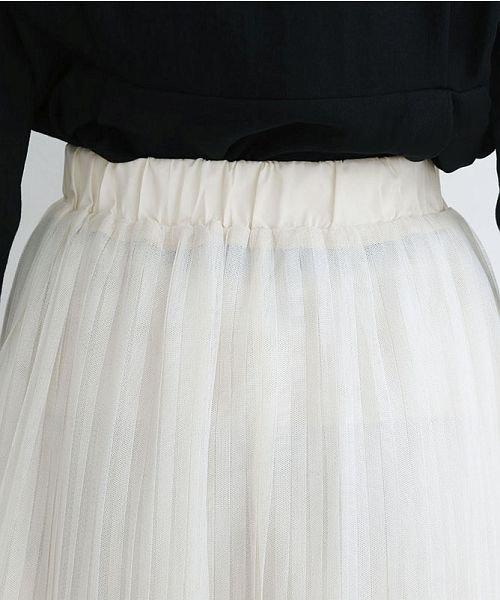 merlot(メルロー)/【plus】チュールプリーツスカート/00010012-879230008448_img07
