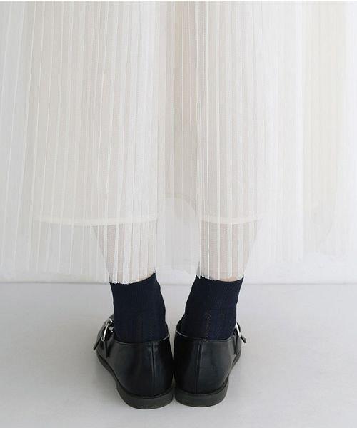 merlot(メルロー)/【plus】チュールプリーツスカート/00010012-879230008448_img08