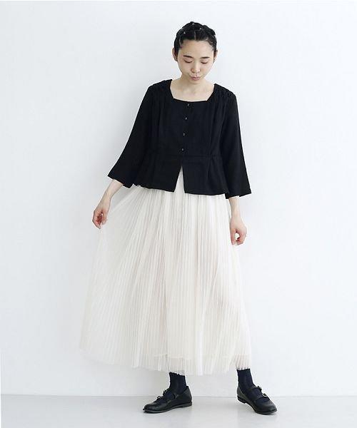merlot(メルロー)/【plus】チュールプリーツスカート/00010012-879230008448_img13