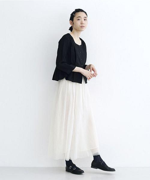 merlot(メルロー)/【plus】チュールプリーツスカート/00010012-879230008448_img14