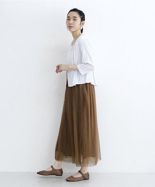merlot(メルロー)/【plus】チュールプリーツスカート/00010012-879230008448_img15