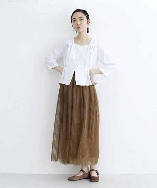 merlot(メルロー)/【plus】チュールプリーツスカート/00010012-879230008448_img16