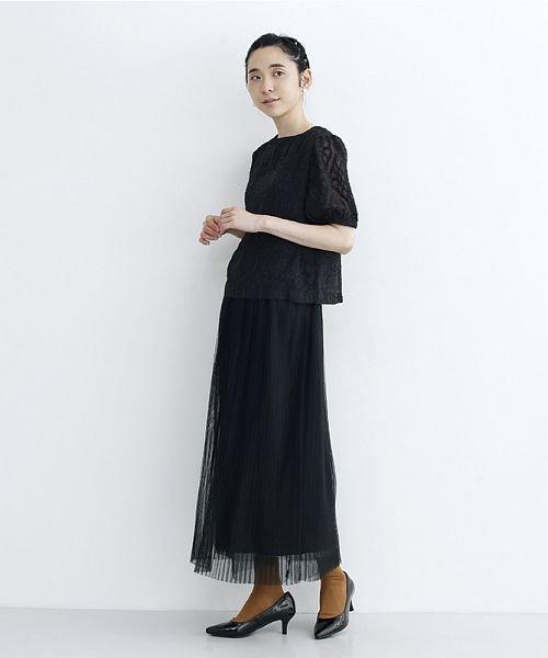 merlot(メルロー)/【plus】チュールプリーツスカート/00010012-879230008448_img17