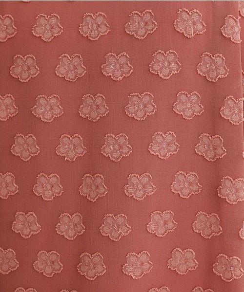 merlot(メルロー)/【plus】フラワードットノースリーブAラインワンピース/00010012-879230008453_img10