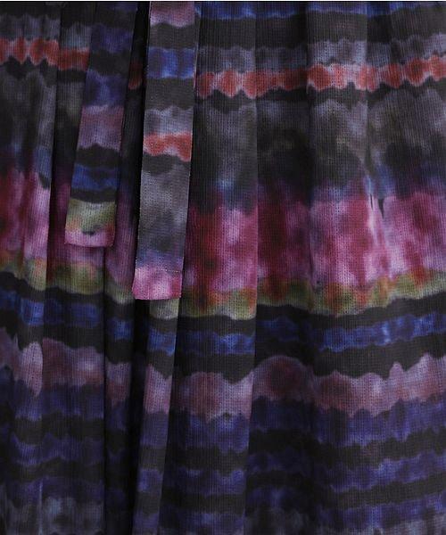 merlot(メルロー)/マルチボーダータイダイスカート/00010012-879230008464_img09