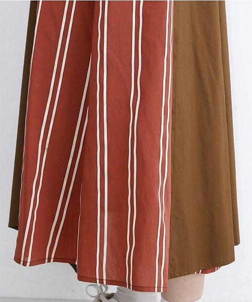 merlot(メルロー)/ストライプ柄配色ラップスカート/00010012-879230008468_img06