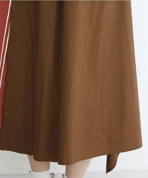 merlot(メルロー)/ストライプ柄配色ラップスカート/00010012-879230008468_img07