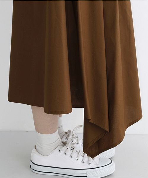 merlot(メルロー)/ストライプ柄配色ラップスカート/00010012-879230008468_img08